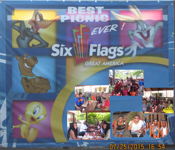 6 FLAGS PICNIC