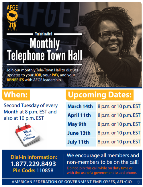 Monthly Telephone Town Hall
